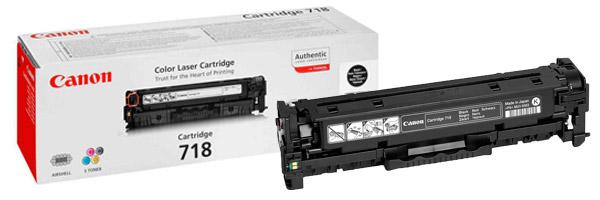 Заправка картриджа Canon 718 Black VP
