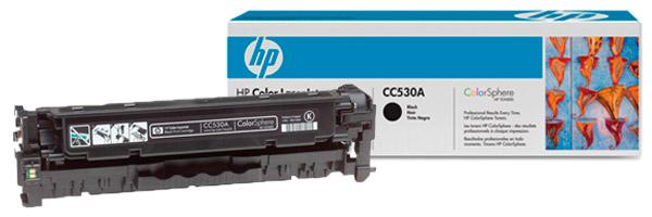 Заправка картриджа CC530A