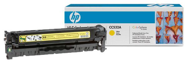 Заправка картриджа CC532A