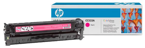 Заправка картриджа CC533A