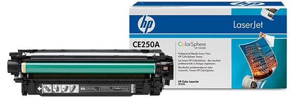 Заправка картриджа CE250A
