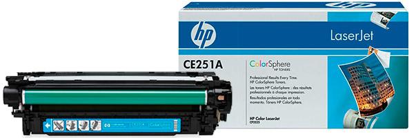 Заправка картриджа CE251A
