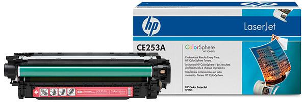 Заправка картриджа CE253A