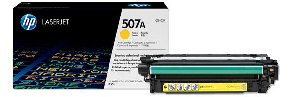 Заправка картриджа CE402A