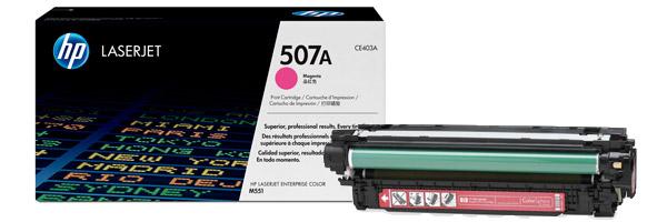 Заправка картриджа CE403A