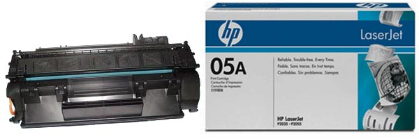 Заправка картриджа CE505A