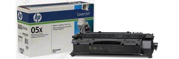 Заправка картриджа CE505X
