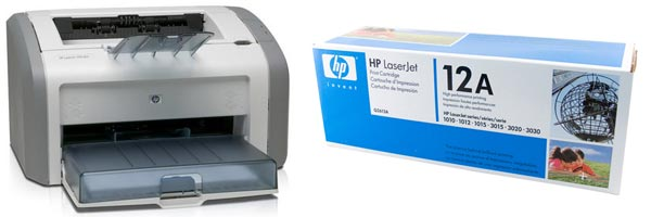 Заправка картриджа HP 1018