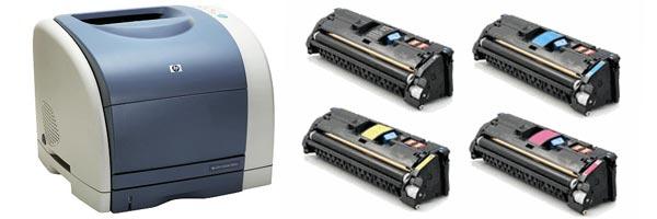 Заправка картриджа HP 1500