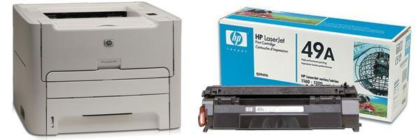 Заправка картриджа HP 1160