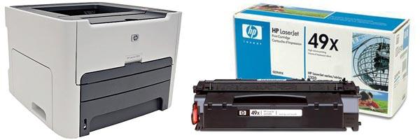 Заправка картриджа HP 1320