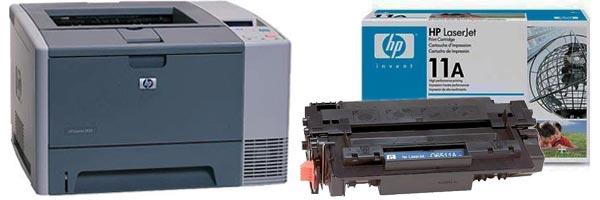 Заправка картриджа HP 2420