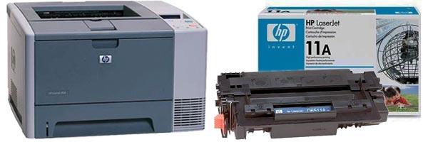 Заправка картриджа HP 2430