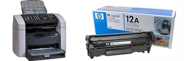 Заправка картриджа HP 3015