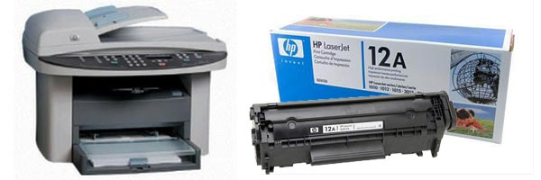 Заправка картриджа HP 3020