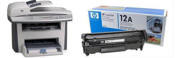 Заправка картриджа HP 3052