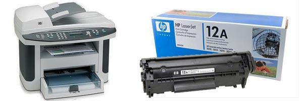 Заправка картриджа HP 3055