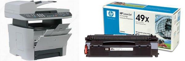 Заправка картриджа HP 3390