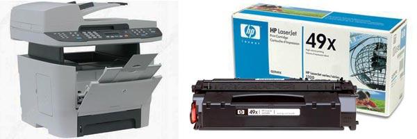Заправка картриджа HP 3392
