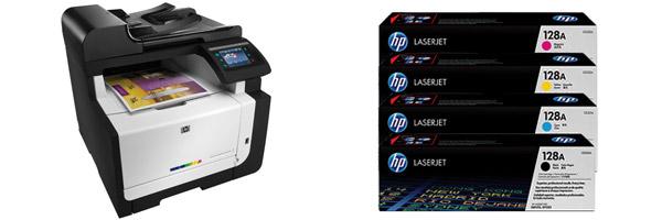 Заправка картриджа HP CM1415
