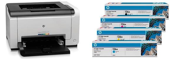 Заправка картриджа HP CP1025