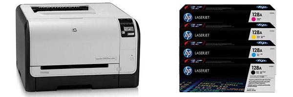Заправка картриджа HP CP1525