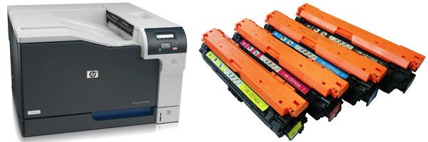 Заправка картриджа HP CP5225