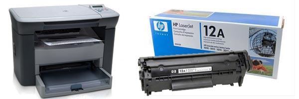 Заправка картриджа HP M1005