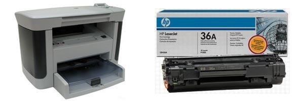Заправка картриджа HP M1120