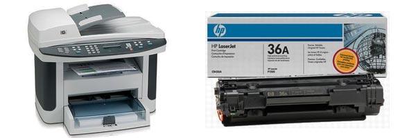 Заправка картриджа HP M1522
