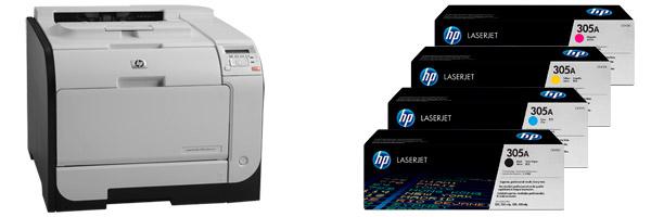 Заправка картриджа HP M351
