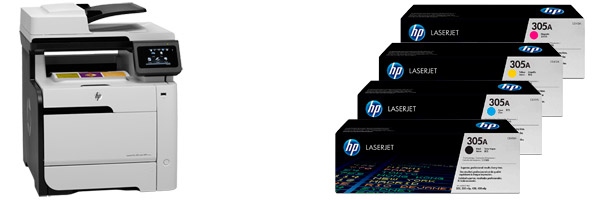Заправка картриджа HP M375