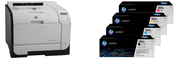 Заправка картриджа HP M451