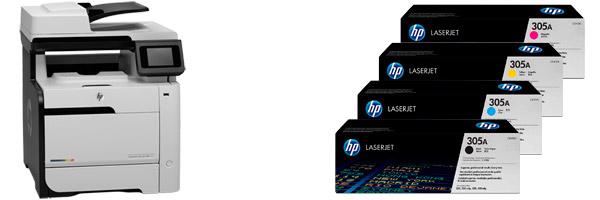 Заправка картриджа HP M475