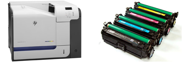 Заправка картриджа HP M551