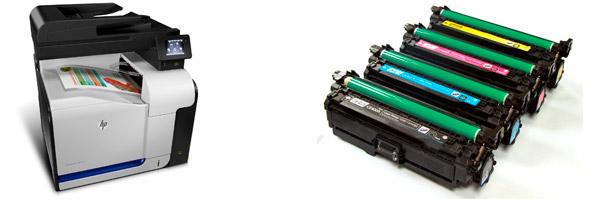 Заправка картриджа HP M570