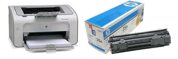 Заправка картриджа HP P1005