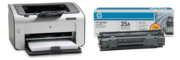 Заправка картриджа HP P1006