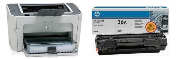 Заправка картриджа HP P1505