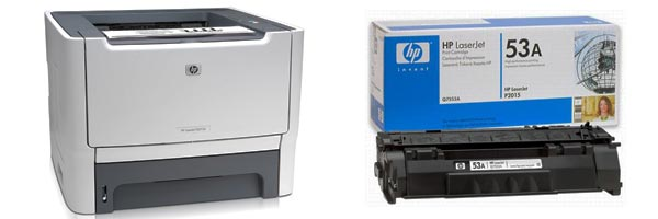 Заправка картриджа HP P2015
