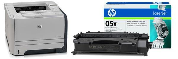 Заправка картриджа HP P2055