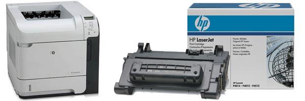 Заправка картриджа HP P4015