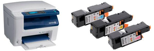 Заправка картриджа Xerox WorkCentre 6015