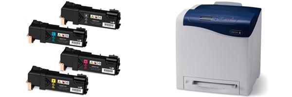 Заправка картриджа Xerox Phaser 6500N