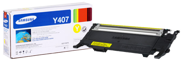 Заправка картриджа CLT-Y407S