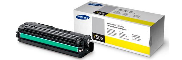 Заправка картриджа CLT-Y506L